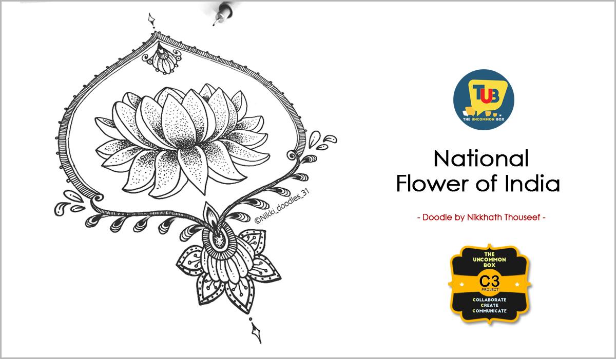 Doodle Avatars Of India S National Symbols The Uncommon Box