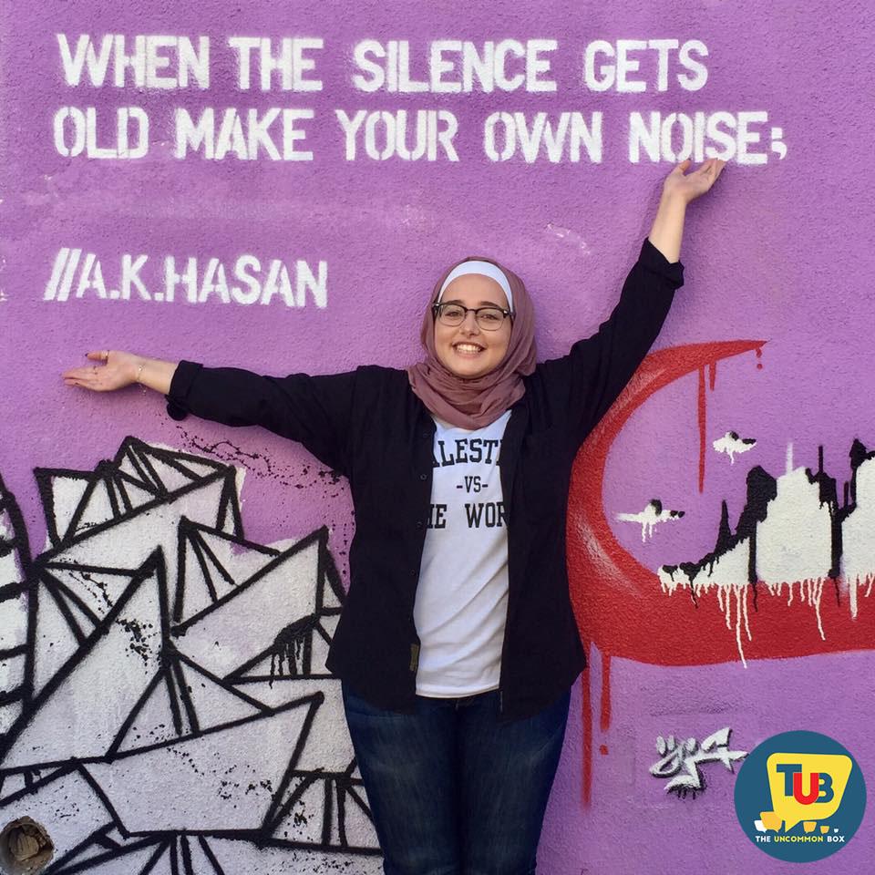 An Eloquent heart -Amanee Khaled Hasan, the writer