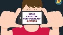 Kissa Creative Self Portrait Ke Results Ka