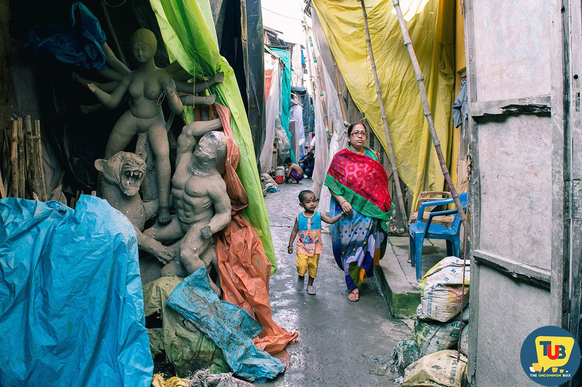 Through The Streets Of Divinity-A Walk Through Kumartuli