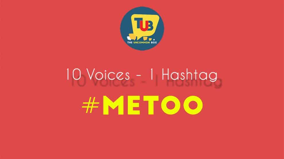 10 voices – 1 hashtag - #Me Too