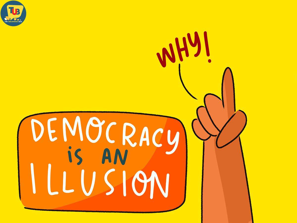 9 Satirical Doodles that Hold the Mirror to India's Real Democracy